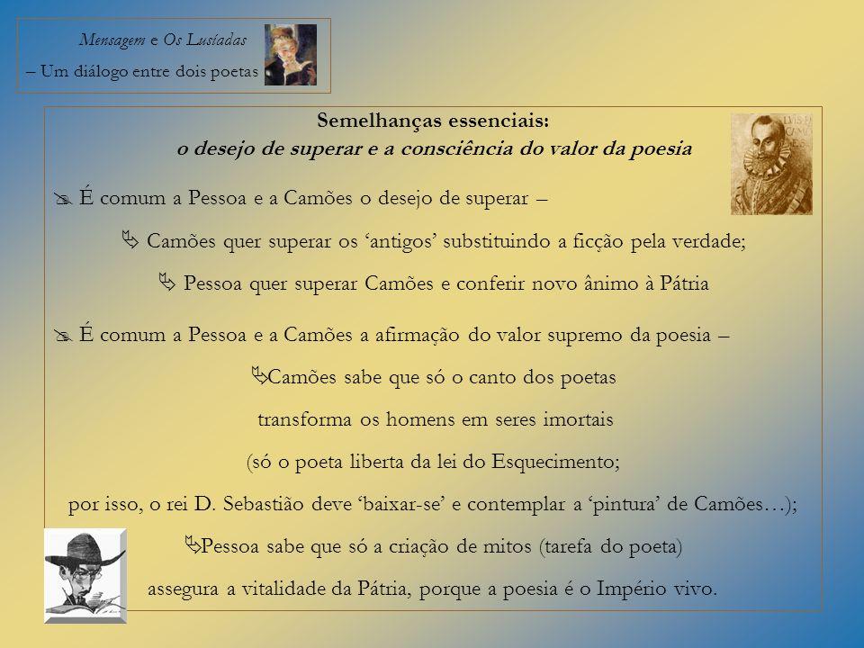 Mensagem e Os Lusíadas – Um diálogo entre dois poetas