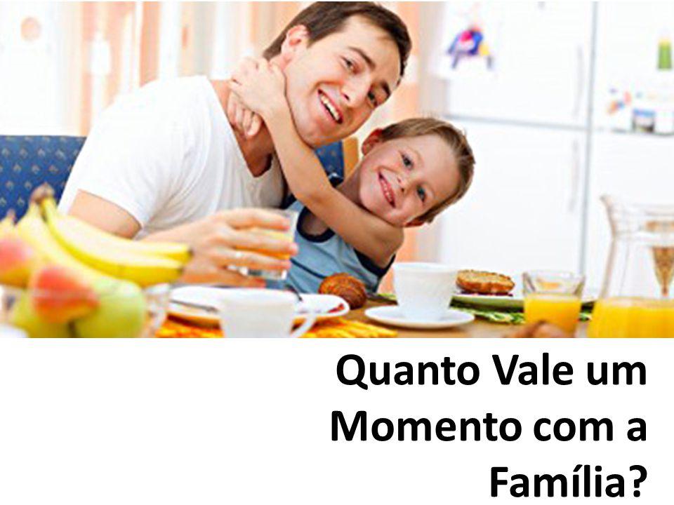 Quanto Vale um Momento com a Família