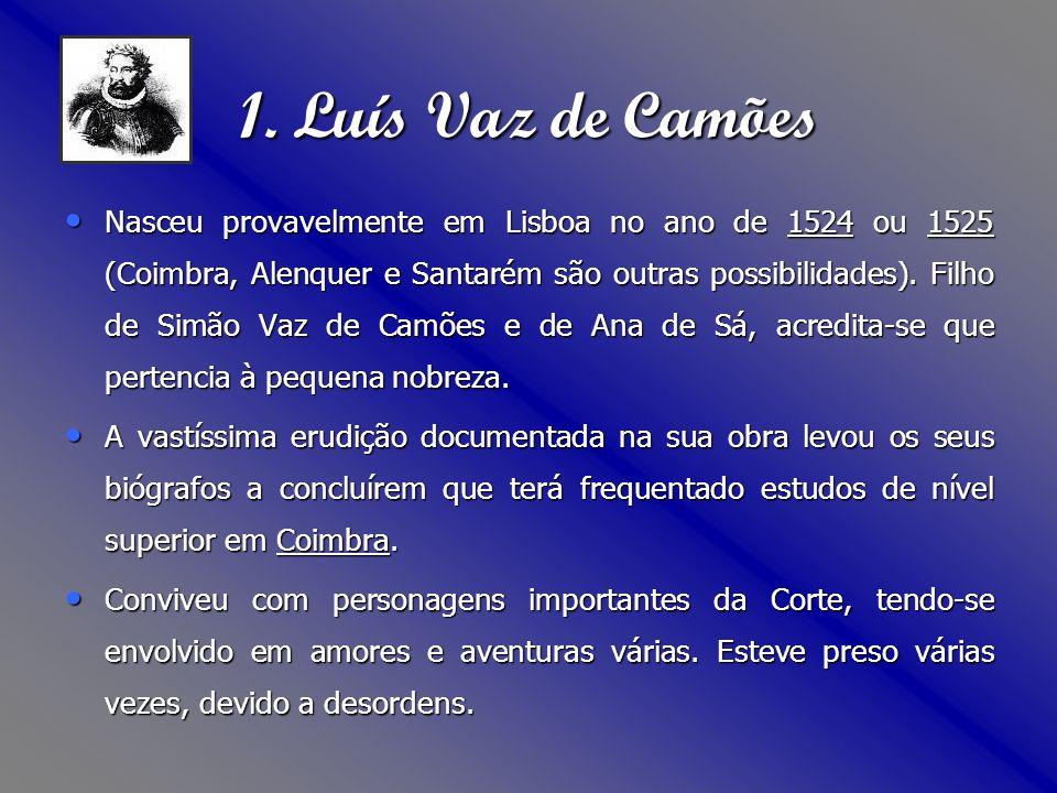1. Luís Vaz de Camões