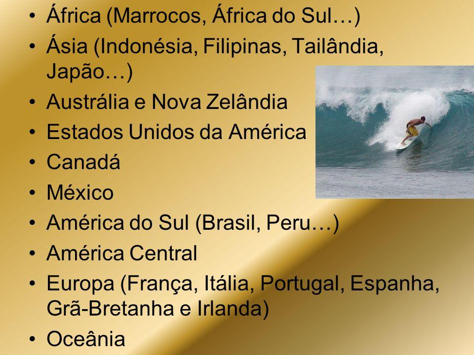 África (Marrocos, África do Sul…)