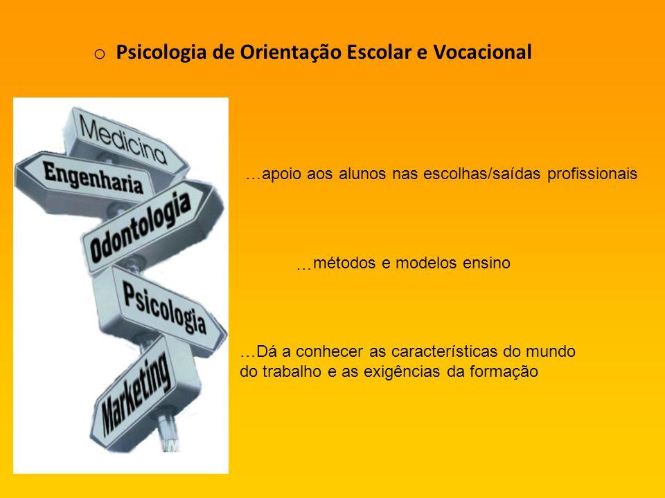 Psicologia de Orientação Escolar e Vocacional