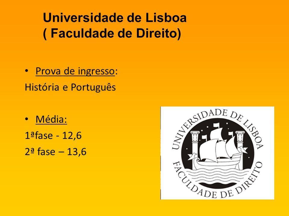 Universidade de Lisboa ( Faculdade de Direito)