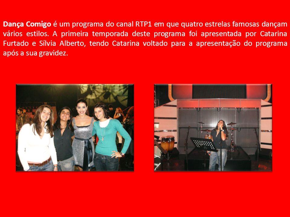 Dança Comigo é um programa do canal RTP1 em que quatro estrelas famosas dançam vários estilos.
