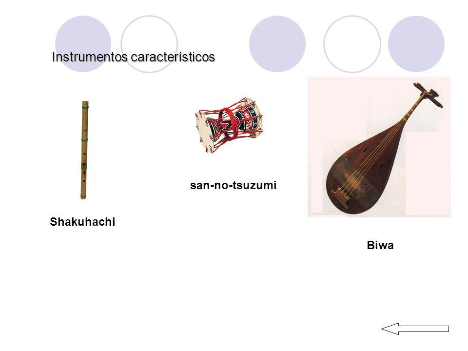 Instrumentos característicos