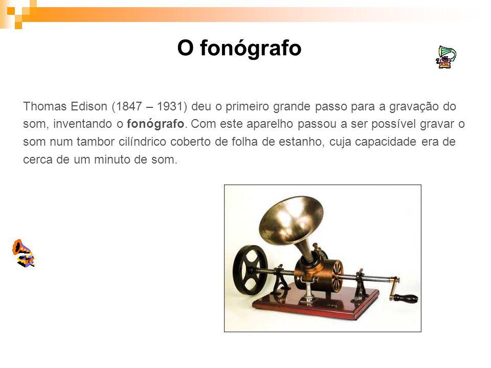 O fonógrafo