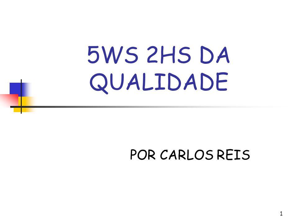 5WS 2HS DA QUALIDADE POR CARLOS REIS