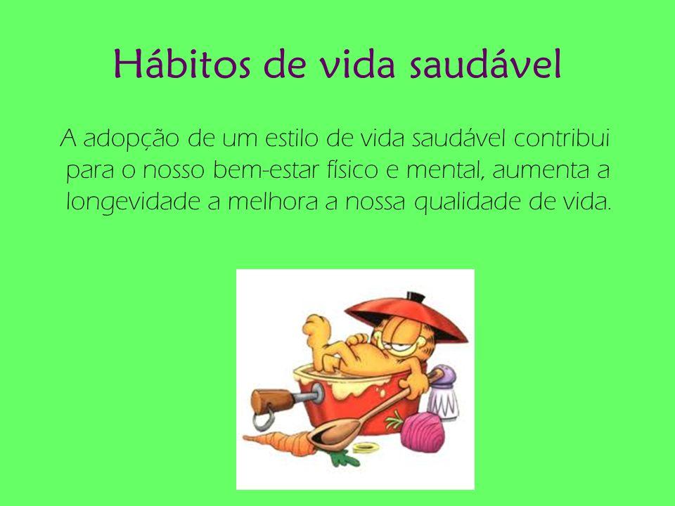 Hábitos de vida saudável