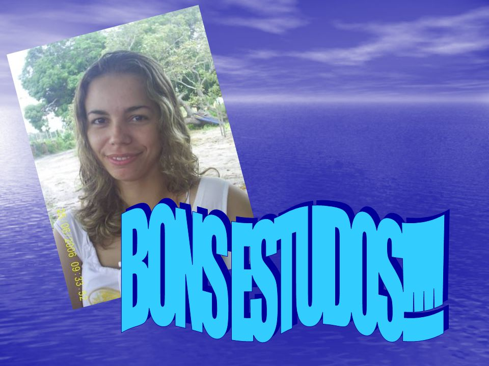 BONS ESTUDOS!!!!