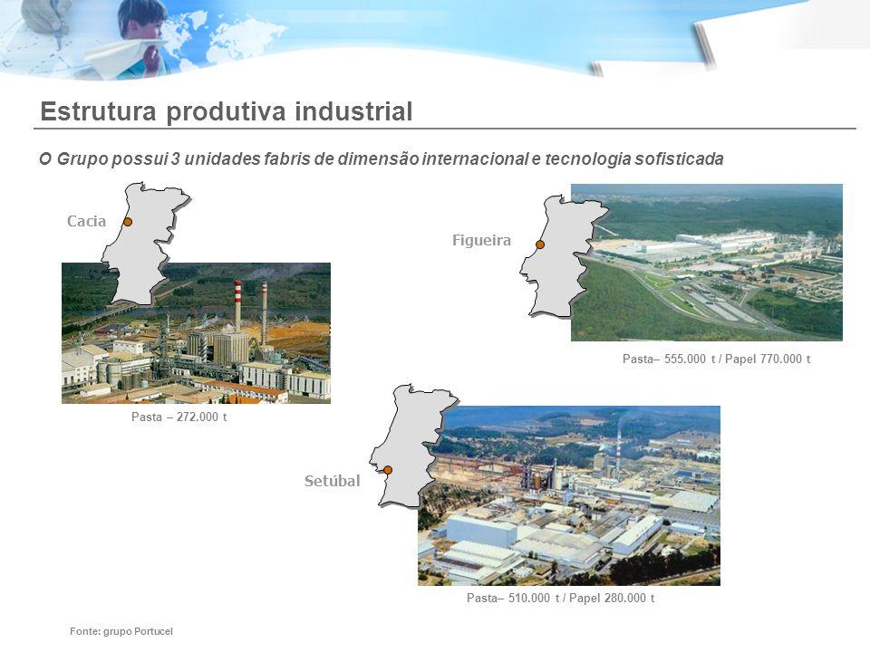 Estrutura produtiva industrial