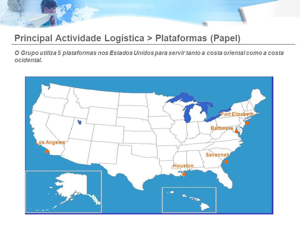 . Principal Actividade Logística > Plataformas (Papel)