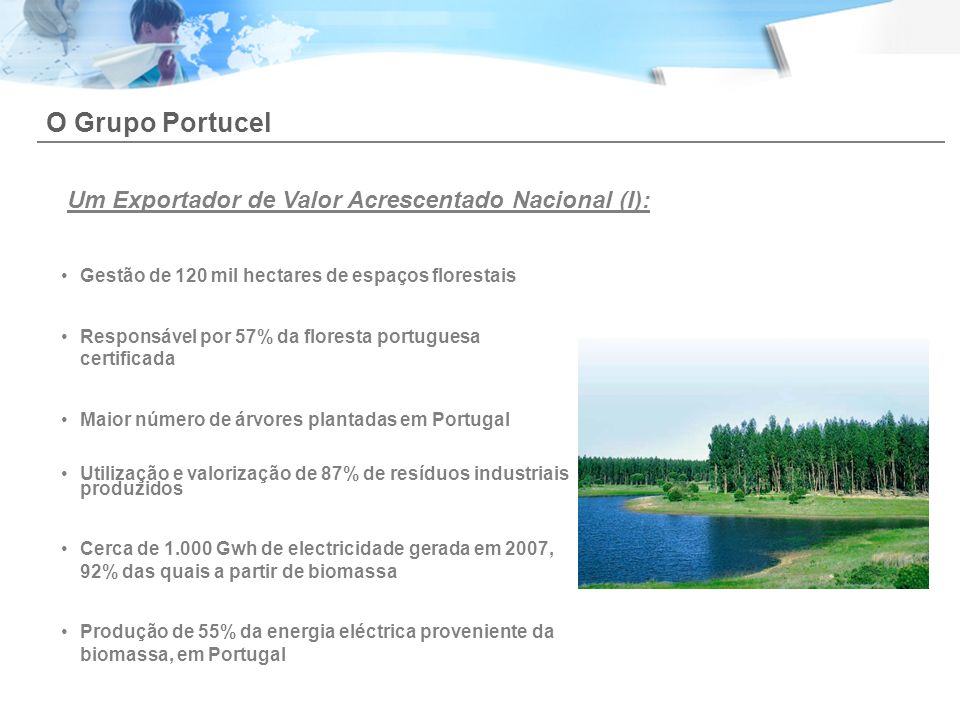O Grupo Portucel Um Exportador de Valor Acrescentado Nacional (I):