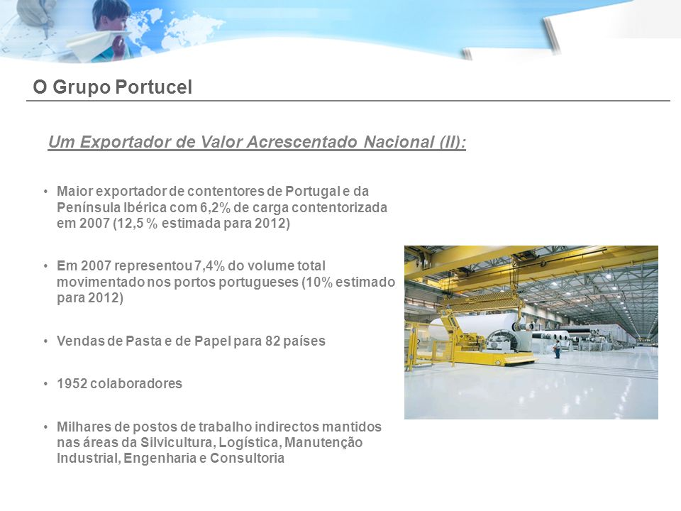 O Grupo Portucel Um Exportador de Valor Acrescentado Nacional (II):