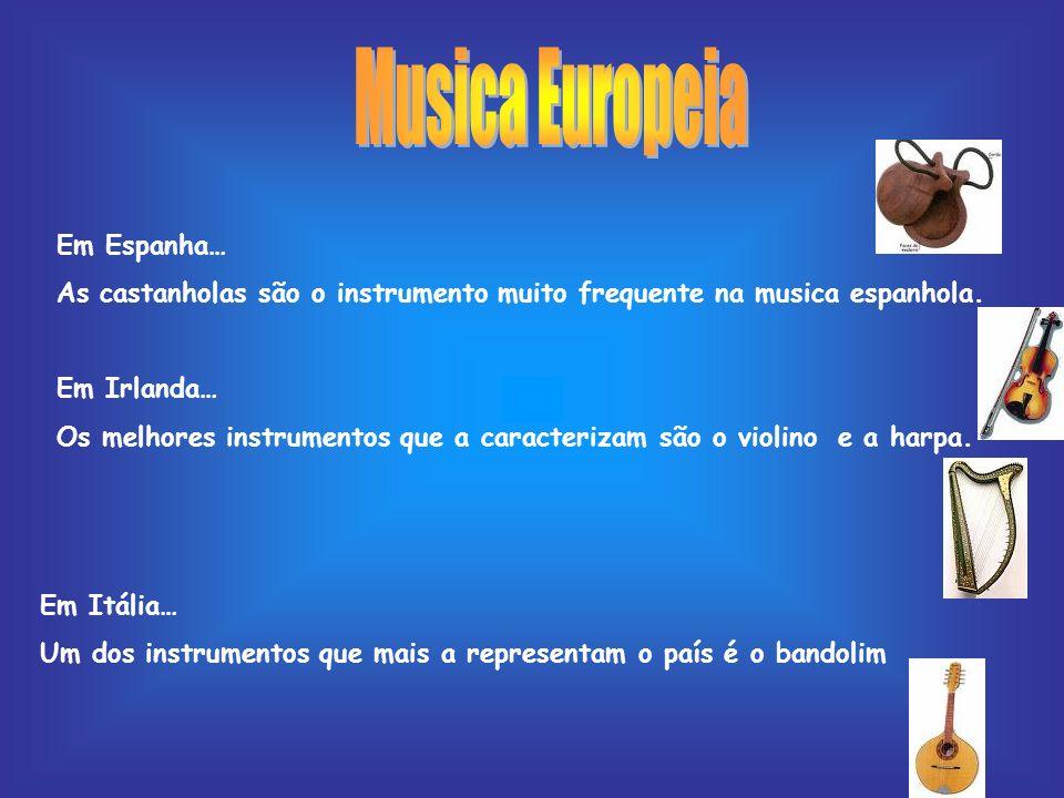 Musica Europeia Em Espanha…