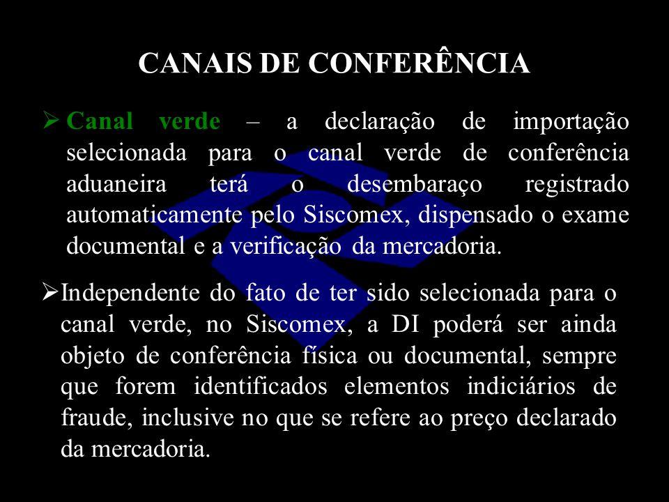 CANAIS DE CONFERÊNCIA