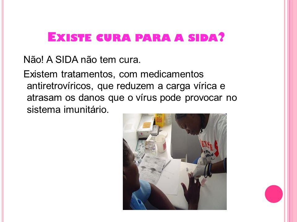 Existe cura para a sida