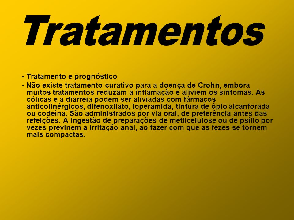 Tratamentos - Tratamento e prognóstico
