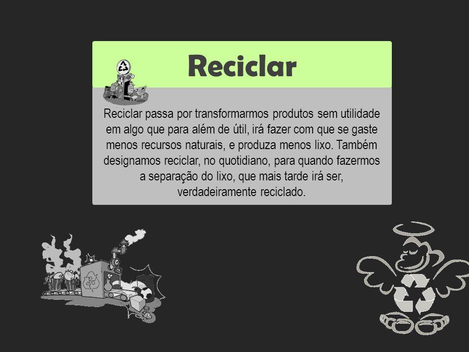 Reutilizar Reciclar.