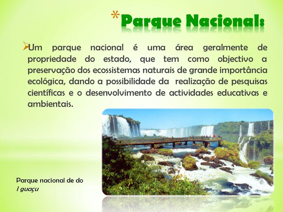Parque Nacional: