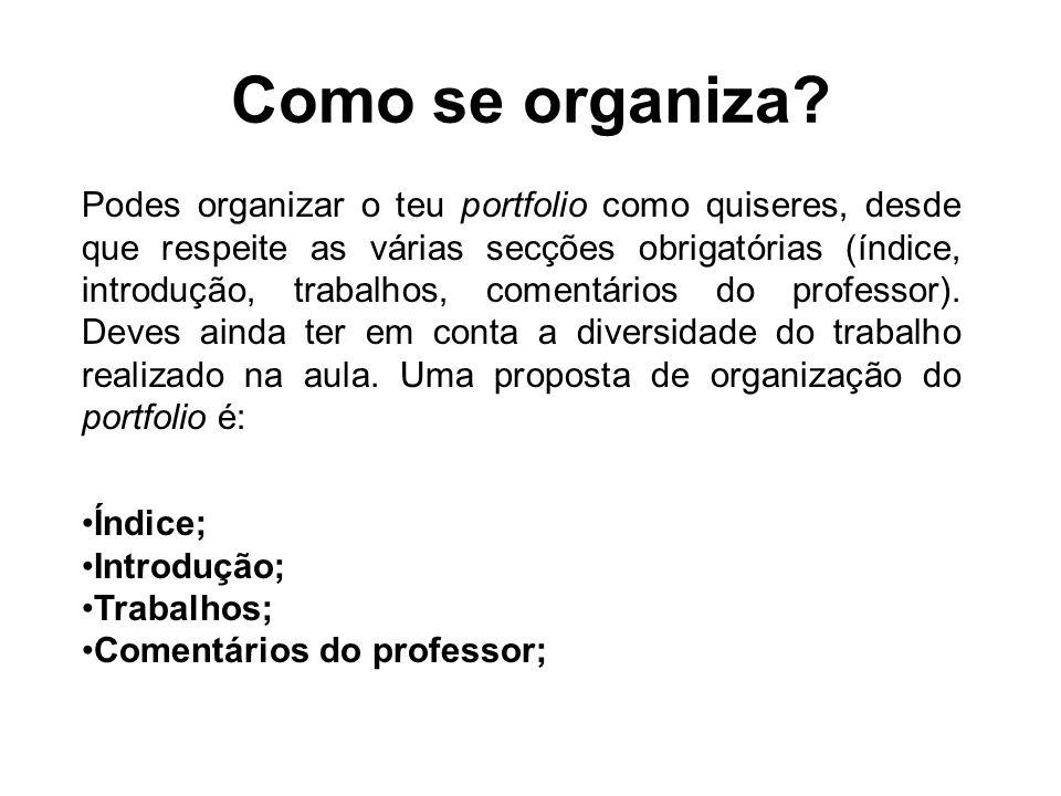 Como se organiza