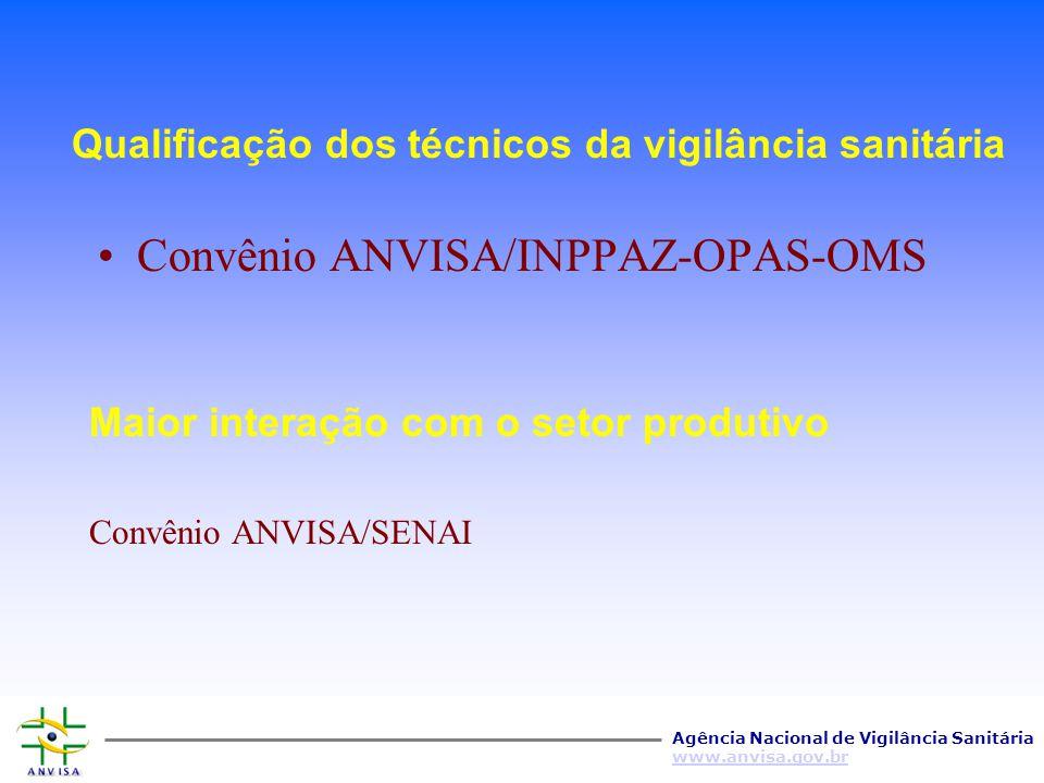 Qualificação dos técnicos da vigilância sanitária