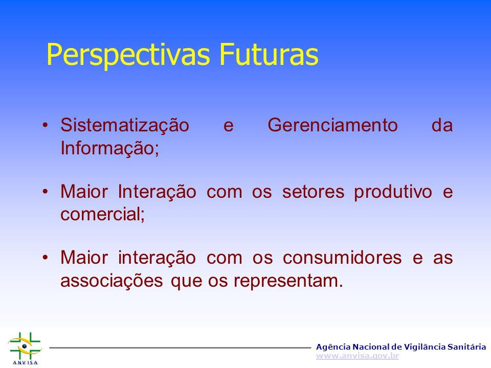 Perspectivas Futuras Sistematização e Gerenciamento da Informação;