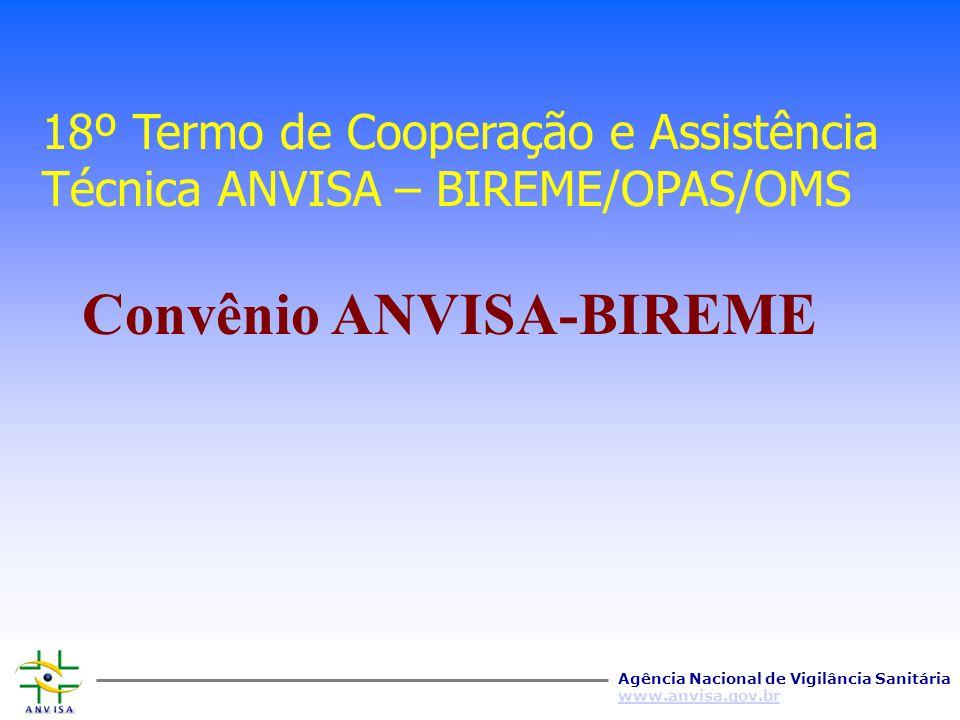 Convênio ANVISA-BIREME