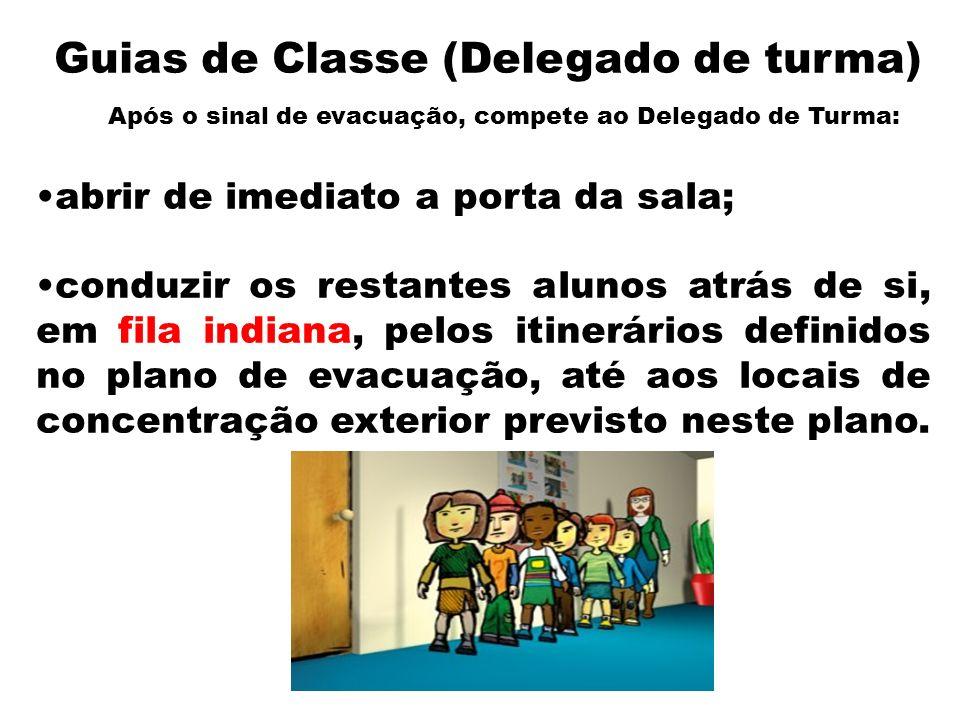 Guias de Classe (Delegado de turma)