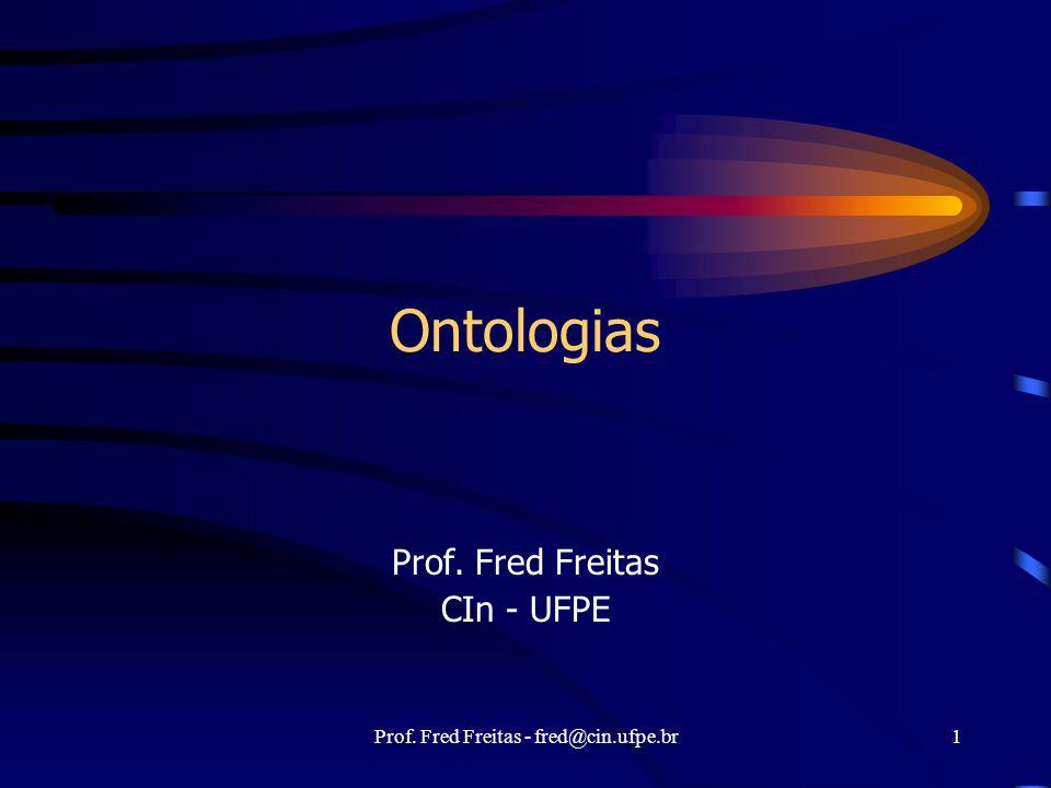 Prof. Fred Freitas CIn - UFPE