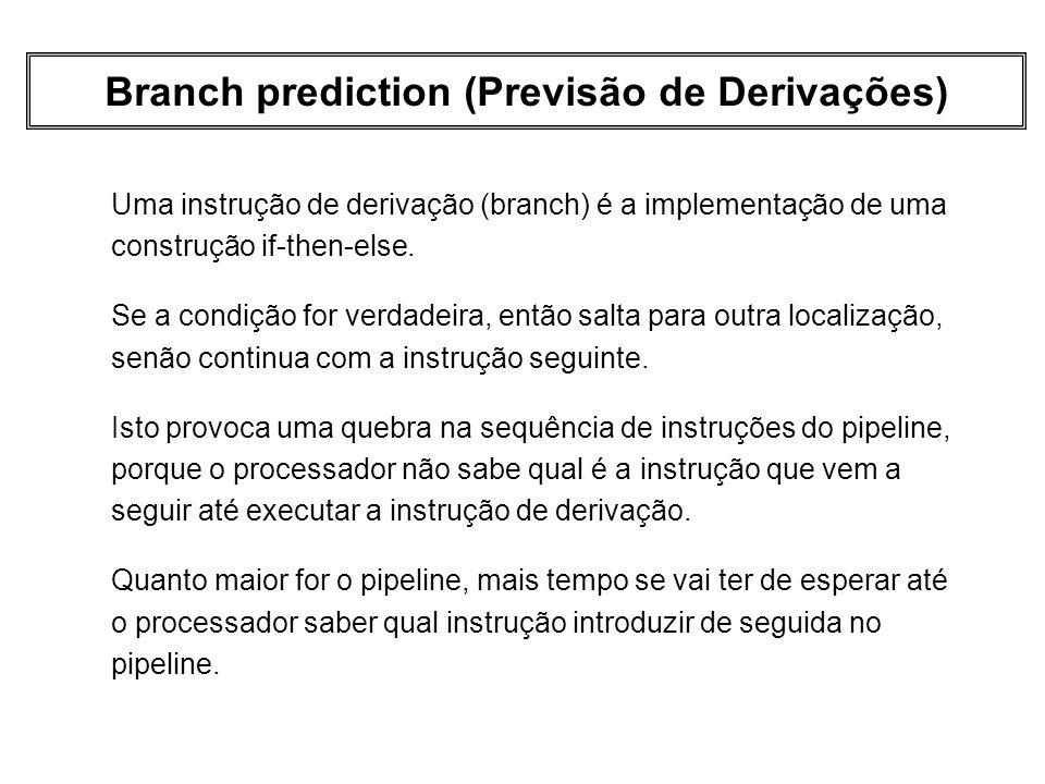 Branch prediction (Previsão de Derivações)