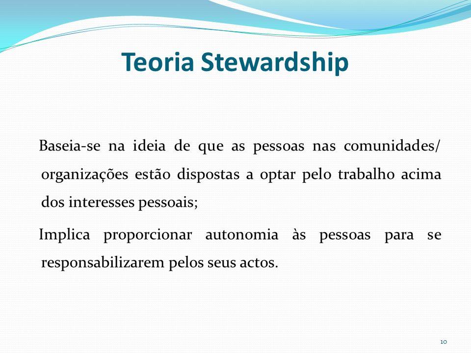 Teoria Stewardship
