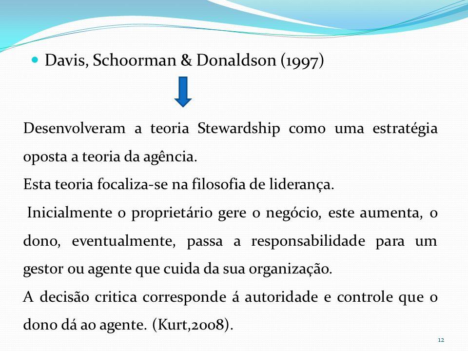 Davis, Schoorman & Donaldson (1997)
