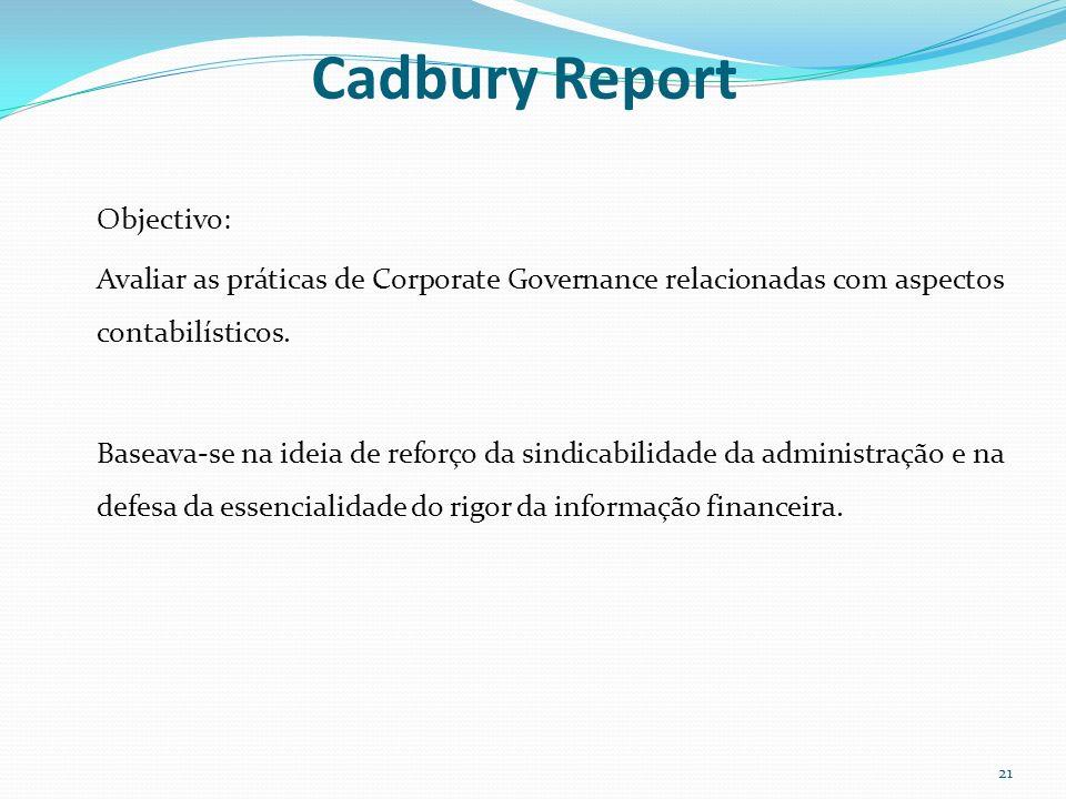 Cadbury Report