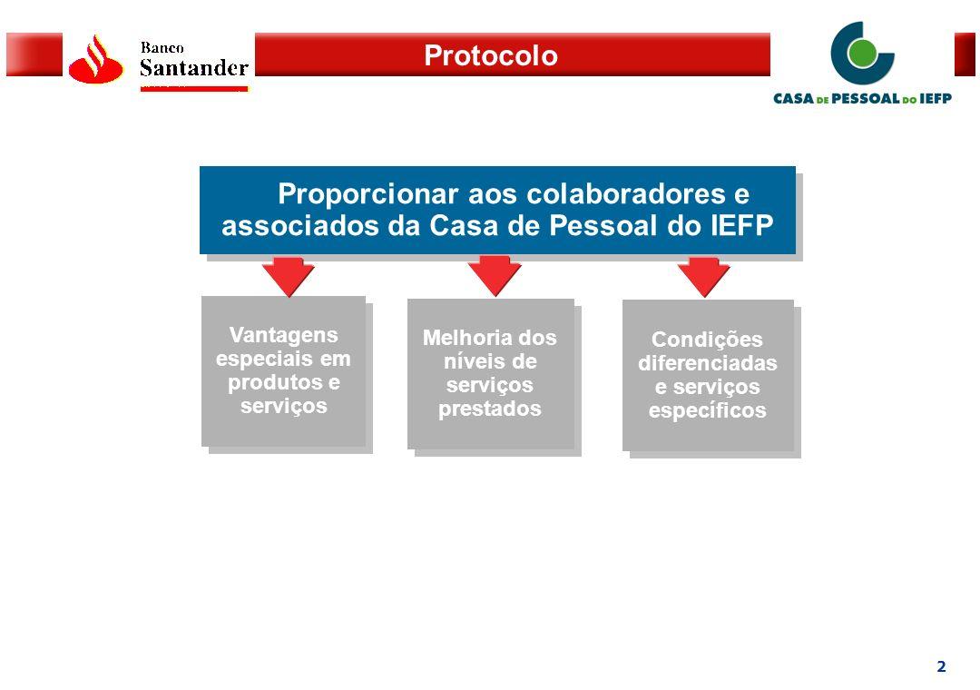 Proporcionar aos colaboradores e associados da Casa de Pessoal do IEFP