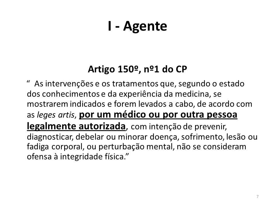 I - Agente