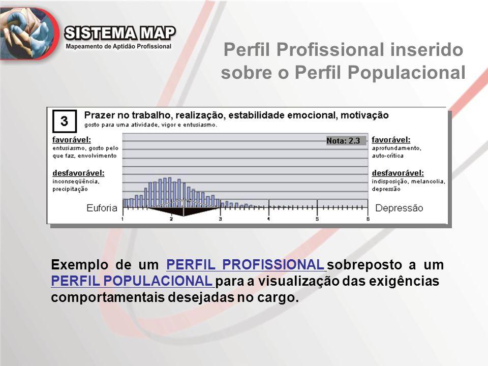 Perfil Profissional inserido sobre o Perfil Populacional