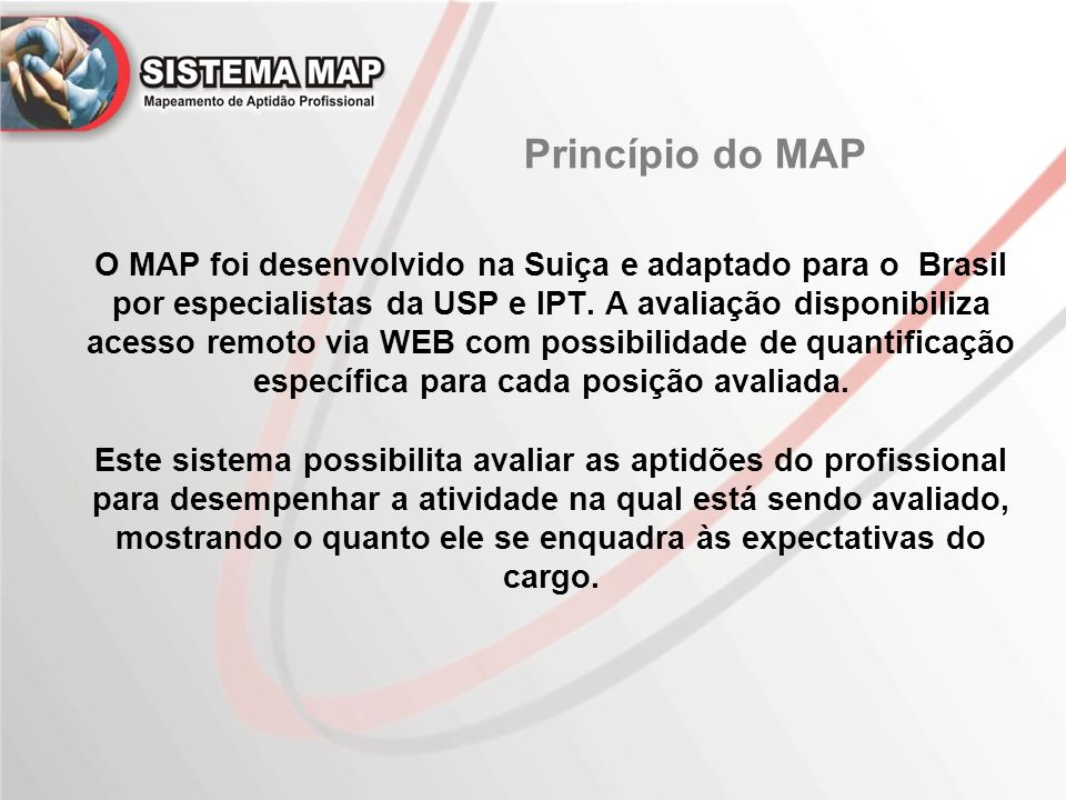 Princípio do MAP