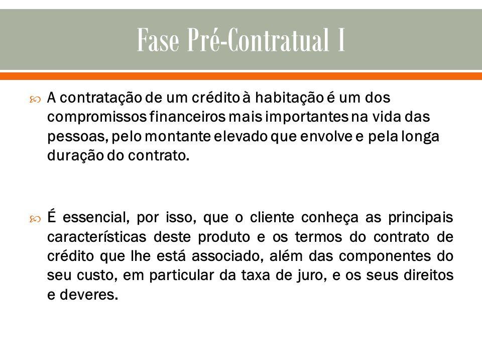 Fase Pré-Contratual I
