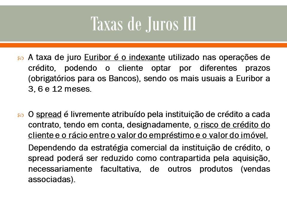Taxas de Juros III