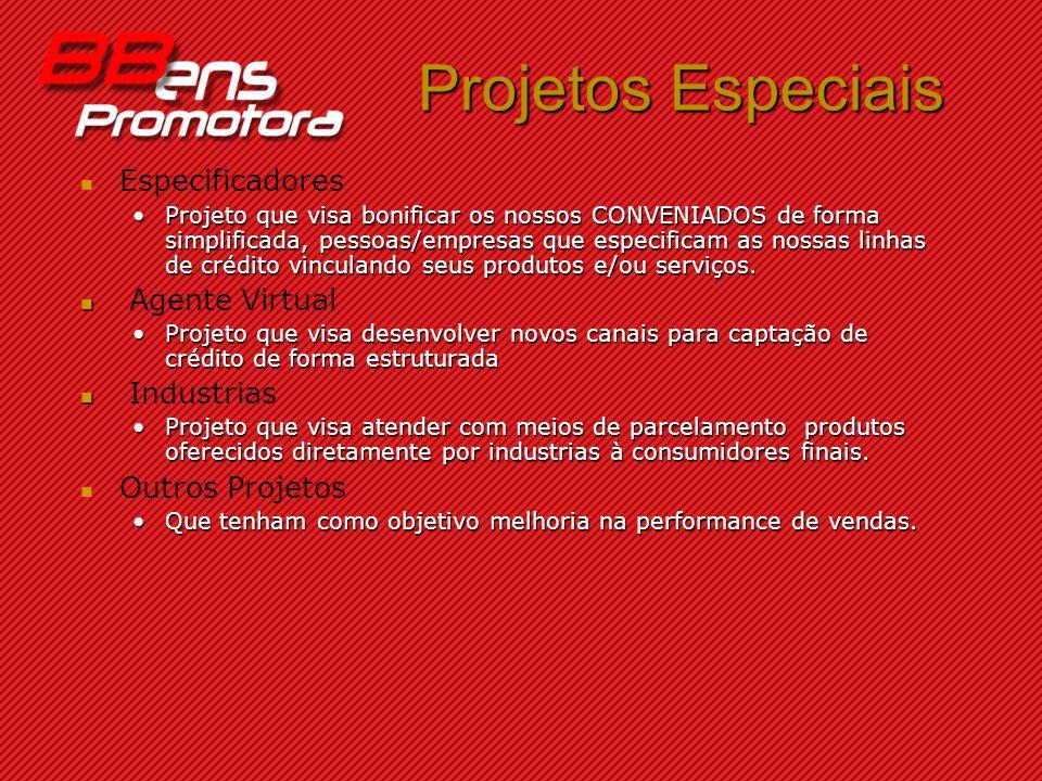 Projetos Especiais Especificadores Agente Virtual Industrias