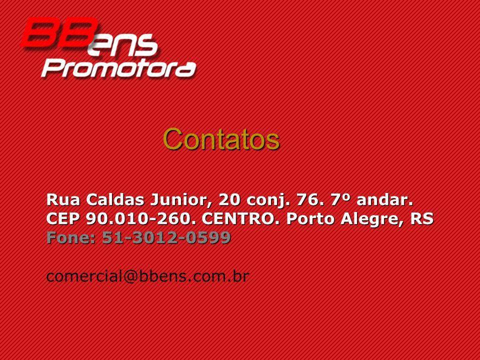 Contatos Rua Caldas Junior, 20 conj. 76. 7º andar.