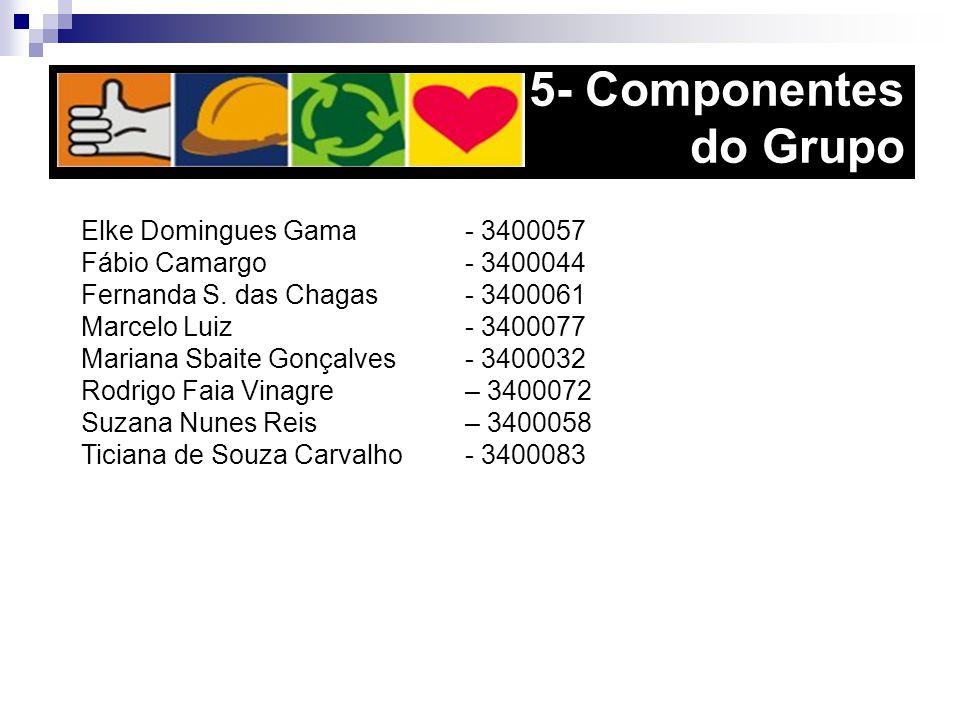 5- Componentes do Grupo Elke Domingues Gama - 3400057