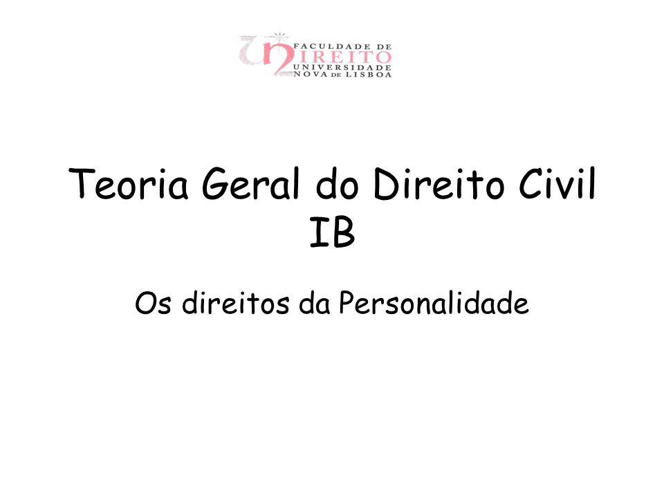 Teoria Geral do Direito Civil IB