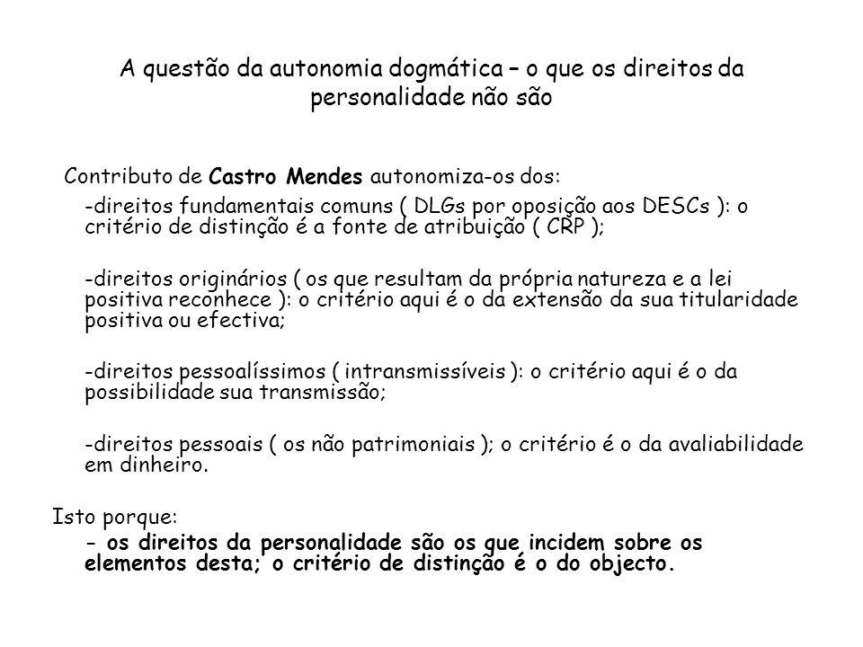 Contributo de Castro Mendes autonomiza-os dos: