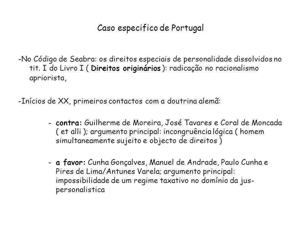 Caso especifico de Portugal