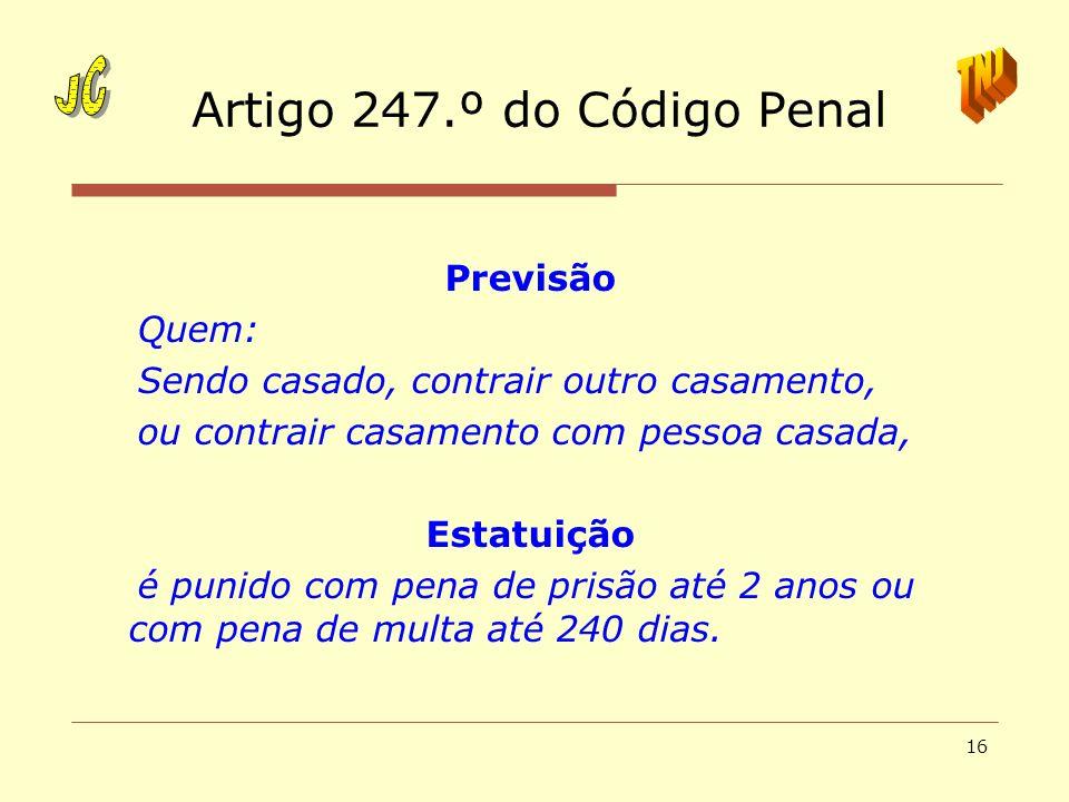 Artigo 247.º do Código Penal