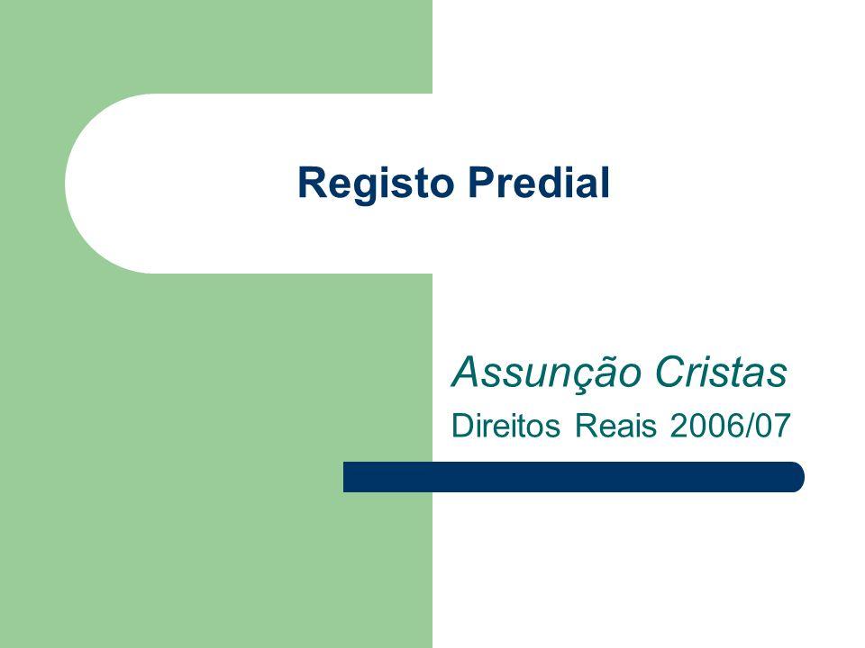 Assunção Cristas Direitos Reais 2006/07