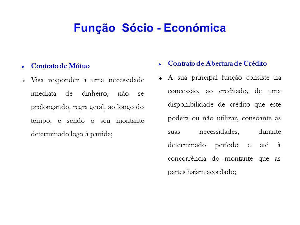 Função Sócio - Económica