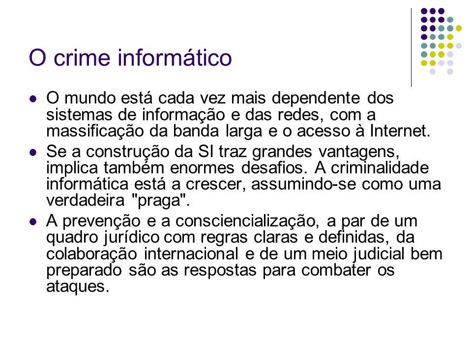 O crime informático
