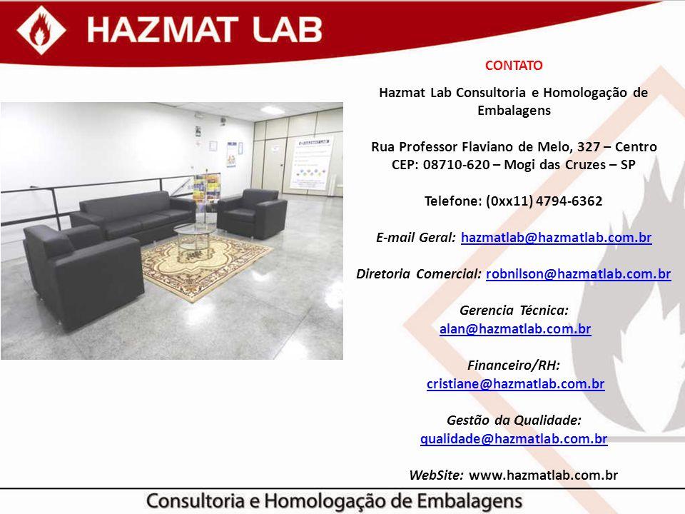 E-mail Geral: hazmatlab@hazmatlab.com.br