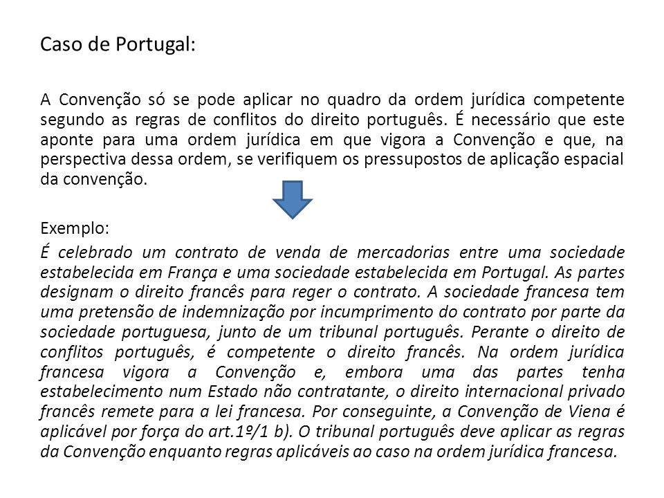 Caso de Portugal: